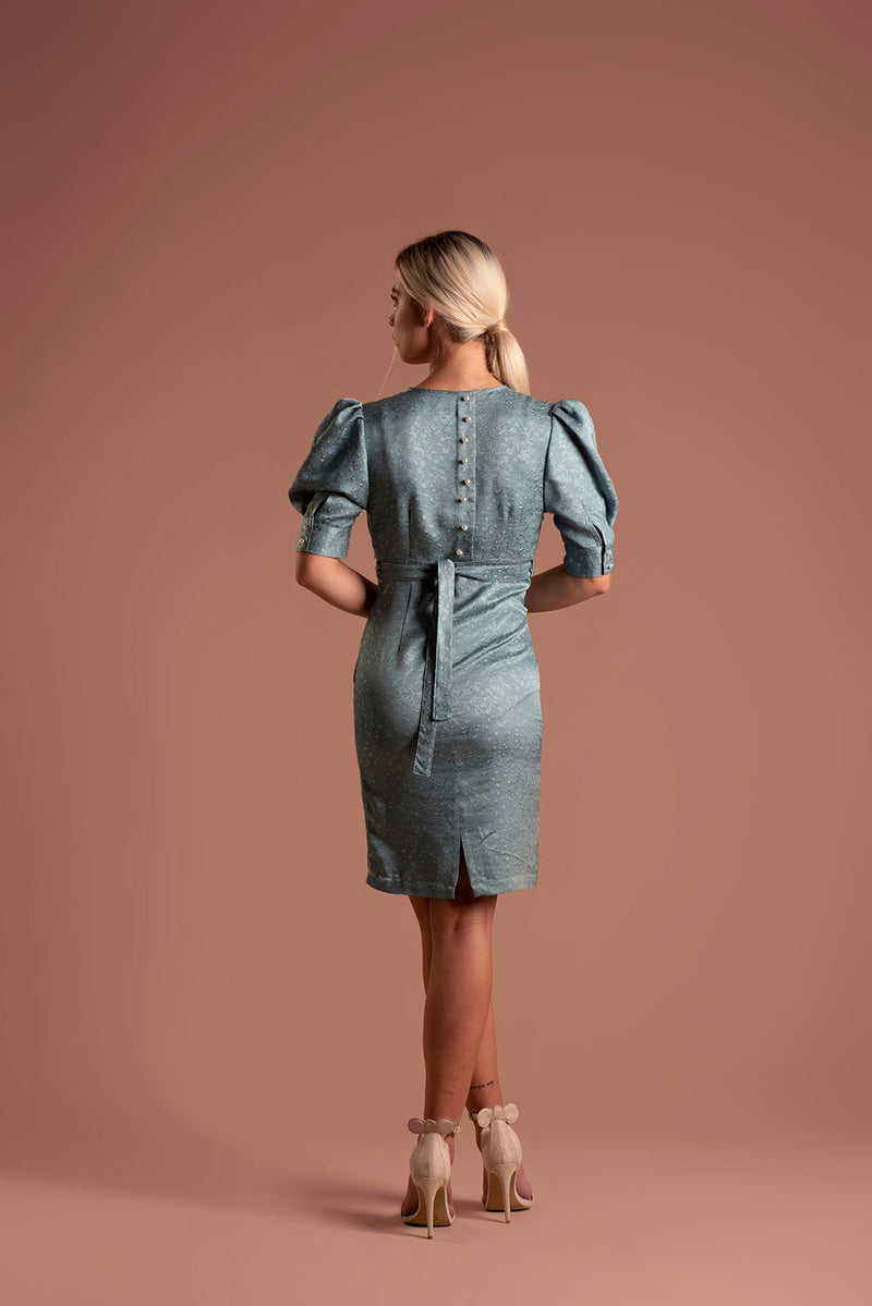 Dress Inga Blue / Lilith by Katarina Baban / Autumn19 Collection