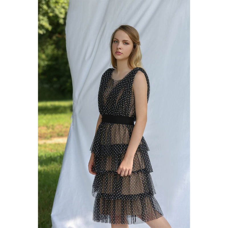 Dress Black Prianna Lilith by Katarina Baban / Summer19 Collection