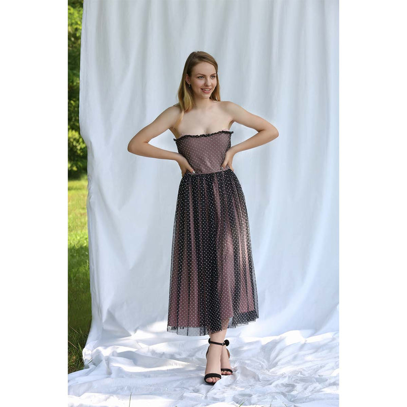 Dress Black Petra Lilith by Katarina Baban / Summer19 Collection