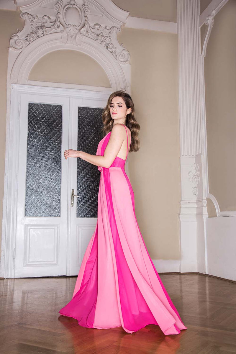 Lilith by Katarina Baban / Spring20 Collection / Dress Aurora Pink