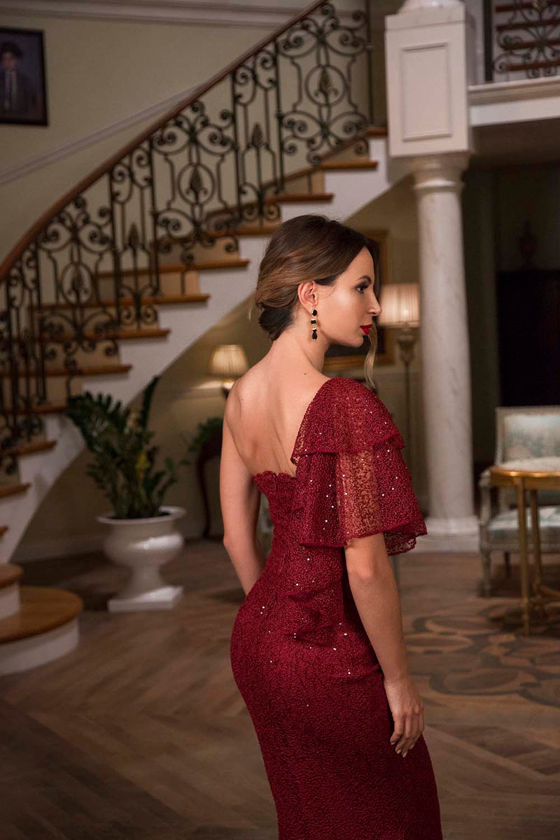 Dress Red Lily / Lilith by Katarina Baban / Celebration Collection 2019