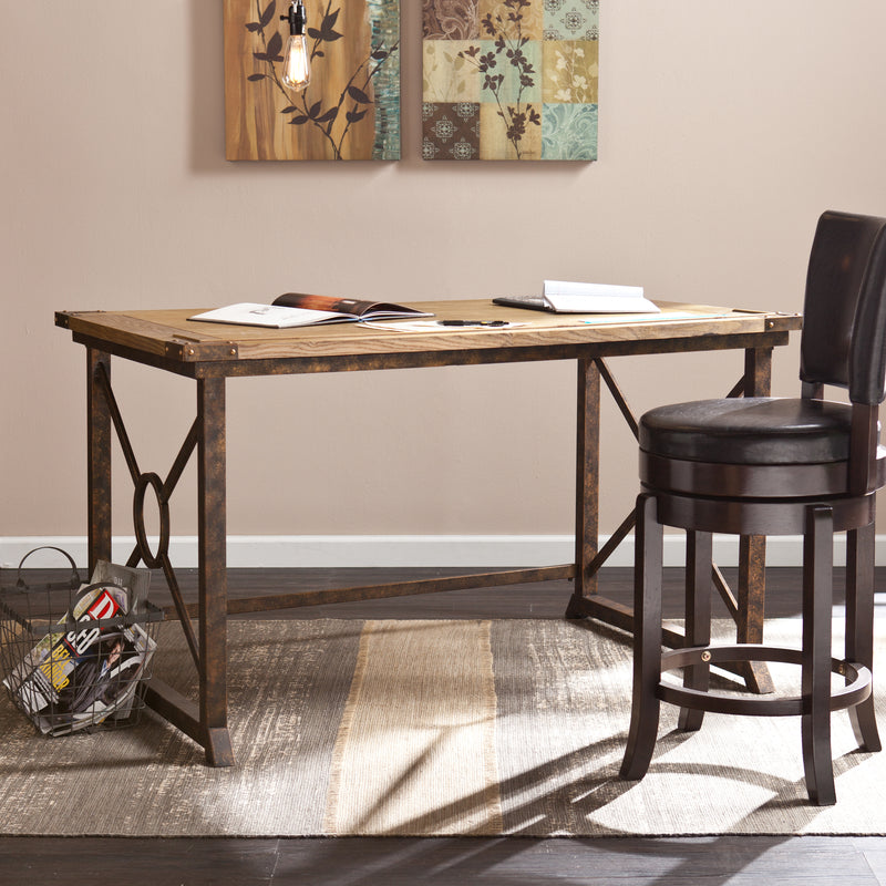 Knightley Tilt-Top Drafting Table - lifestyle photo - tabletop flat