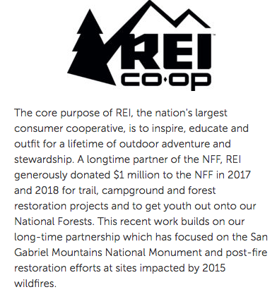 REI National Forest Foundation