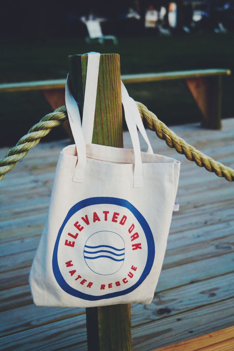 Elevated Oak Water Rescue Organic Tote - Elevated Oak