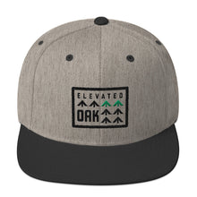 EO Trees Wool Blend Snapback Hat (3 color variations) - Elevated Oak