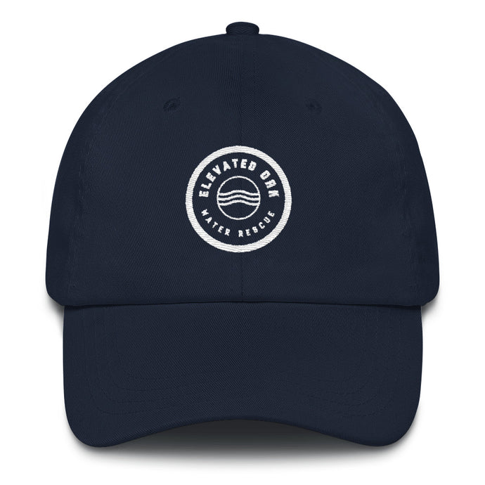 Elevated Oak Water Rescue Dad Hat (Navy) - Elevated Oak