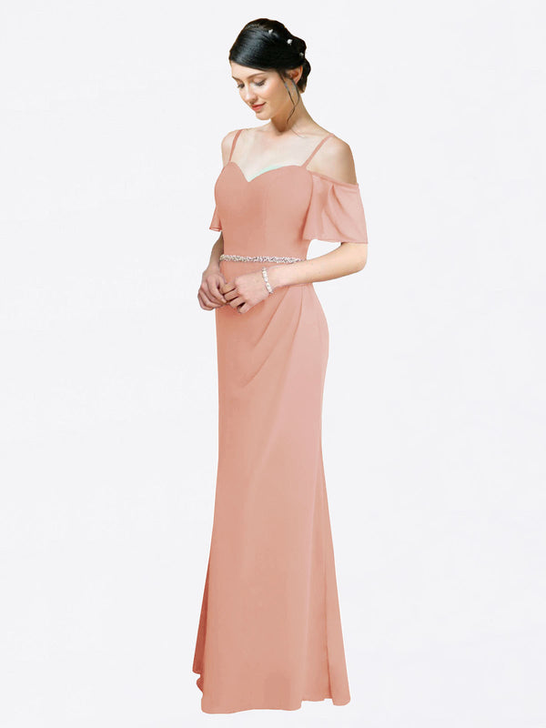 Mila Queen Kaley Bridesmaid Dress Bliss - A-Line Sweetheart Long Bridesmaid Gown Kaley in Bliss