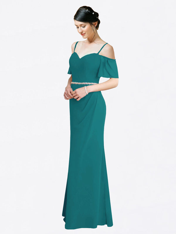 Mila Queen Kaley Bridesmaid Dress Hunter - A-Line Sweetheart Long Bridesmaid Gown Kaley in Hunter
