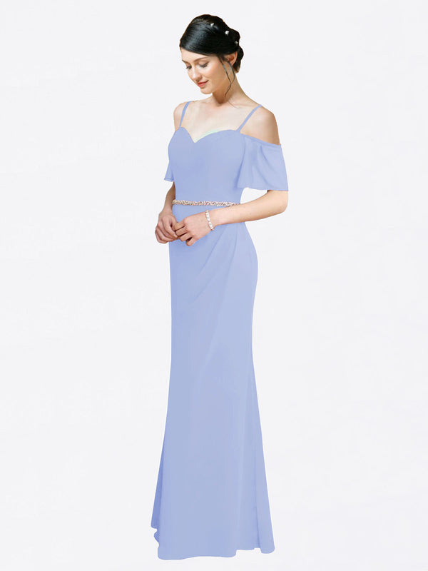 Mila Queen Kaley Bridesmaid Dress Lavender - A-Line Sweetheart Long Bridesmaid Gown Kaley in Lavender