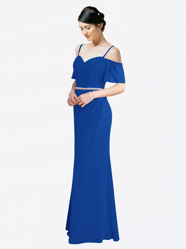 Mila Queen Kaley Bridesmaid Dress Royal Blue - A-Line Sweetheart Long Bridesmaid Gown Kaley in Royal Blue