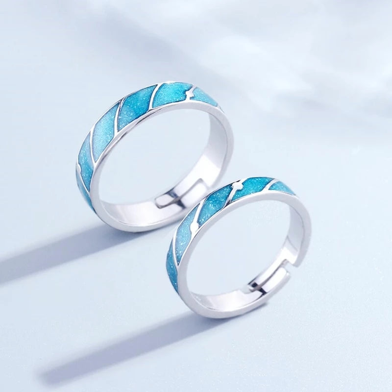 Turquoise Waters Sterling Silver Rings