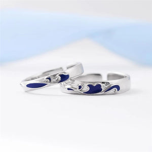 Blue Whale Sterling Silver Rings