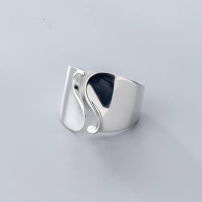 Clean Waves Jewellery Carving the Wave Sterling Silver Ring