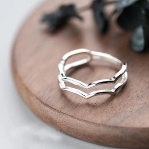 Clean Waves Jewellery Gentle Waves Sterling Silver Ring
