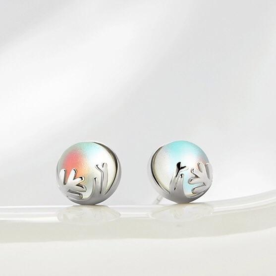 Clean Waves Jewellery Misty Lake Sterling Silver Earrings
