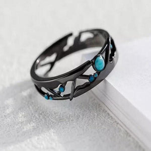 Clean Waves Jewellery Rivers Flow Sterling Silver Ring