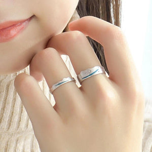 Clean Waves Jewellery Whitewater Sterling Silver Rings