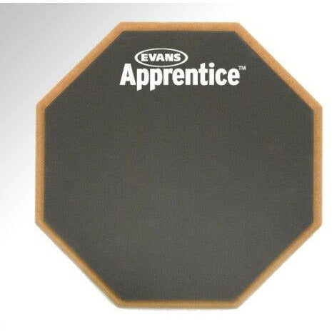 "Evans ARF7GM 7"" Apprentice Drum Stick Practice Pad.Realistic Response From Stick"
