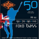 Rotosound RB50 Roto Bass Nickel on Steel Roundwound Bass Guitar Strings 50-110