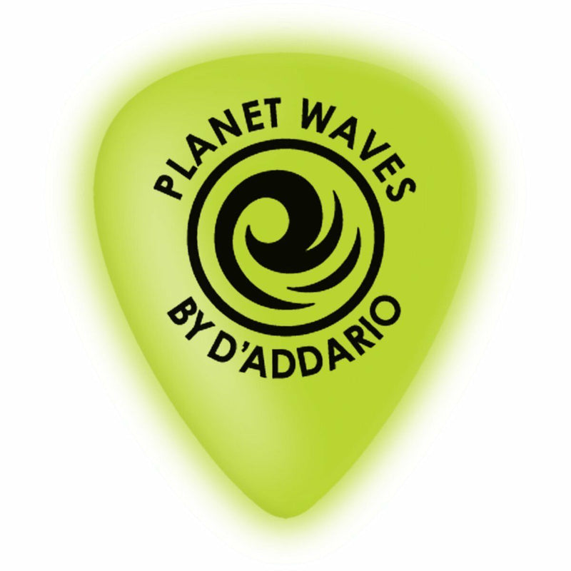 D'Addario 1CCG6-10 Cellu-Glo Heavy 1.omm Guitar Picks Pack of 10