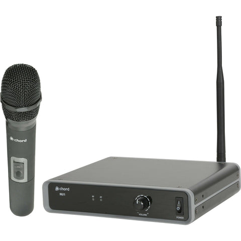 Chord NU1-H UHF Wireless Handheld Microphone System,Licence free operation