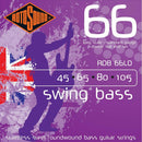 Rotosound RDB66LD Swing Bass S/S Roundwound Double Ball End Bass String 45-105