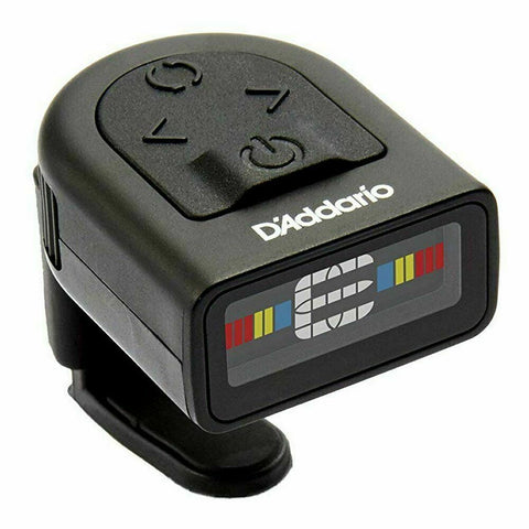 D'Addario PW-CT-12 NS Micro Headstock Chromatic Tuner. Guitar,Uke,Violin,Bass ++