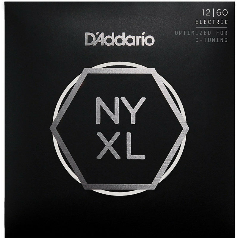 D'Addario NYXL1260 Nickel Wound Electric Guitar Strings, Extra Heavy, 12-60