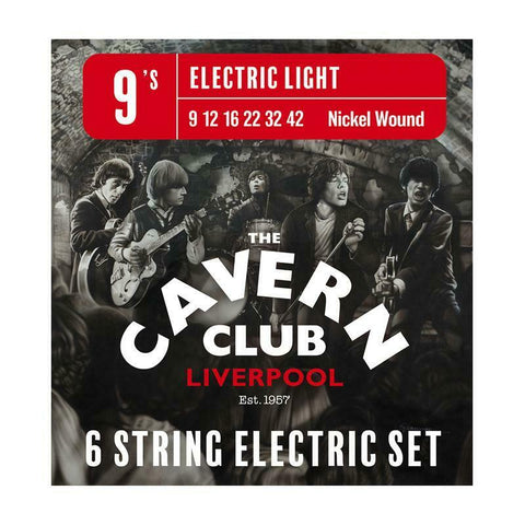 The Cavern Club Nickel Wound Electric Guitar String Set 09-42