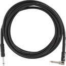 Fender Pro Series Instrument Cable, Angle-Straight 25ft Black P/N 0990820060