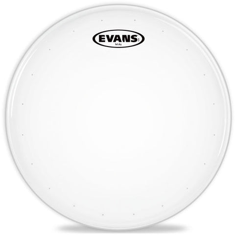 "Evans B14HDD 14"" Genera HD Dry Coated Snare Drum Head"