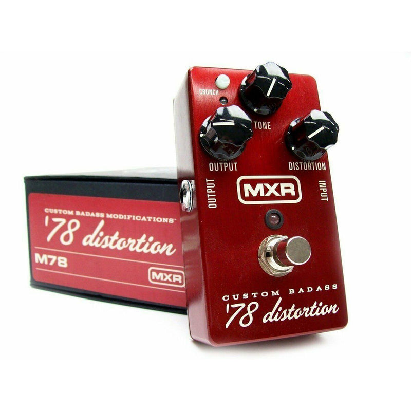 Dunlop MXR M78 Custom Badass '78 Distortion Pedal