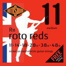 2 Sets Of Rotosound R11 11-48 + 5 X NP.011 Single Strings