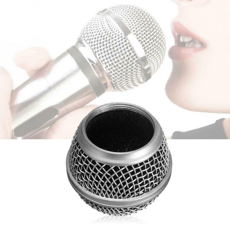 Replacement Steel Mesh Microphone Grille SM58 Style Mic Grille