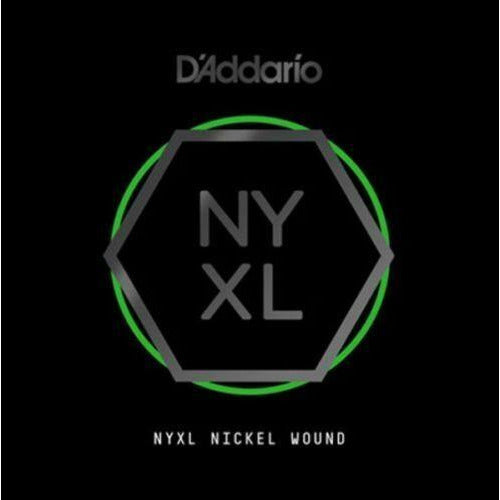 D'Addario NYNW019 NYXL Nickel Wound Electric Guitar Single String, X 2 Strings