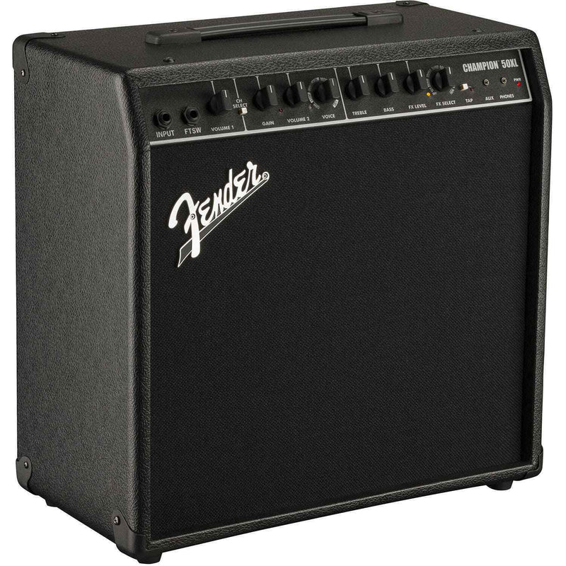 Fender Champion 50XL 50w, 1x12 Combo Guitar Amp P/N 2330506000