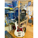 Aria 313 MK2 Detroit Bass, Roast Maple Neck, Rosewood F/Board Open Pore White