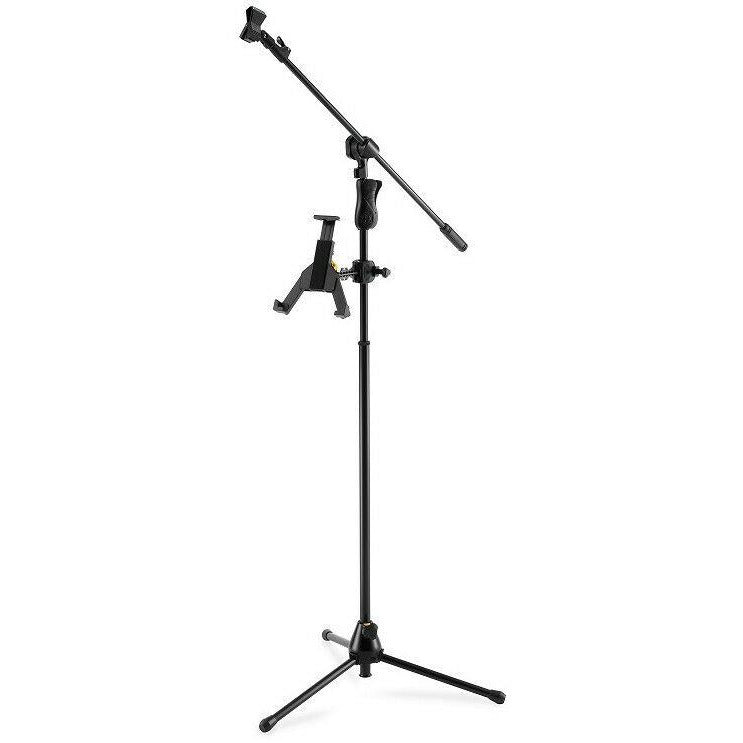 Hercules DG305B NEW 'TabGrab' Tablet/iPad Holder for Music or Microphone Stands