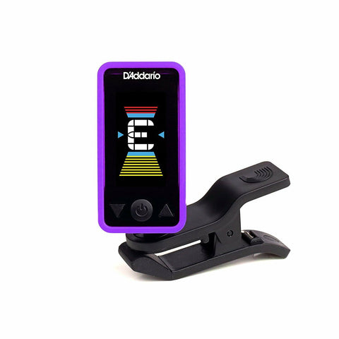 D'Addario PW-CT-17PR Eclipse Headstock Tuner Purple. Guitar, Uke, Bass !!