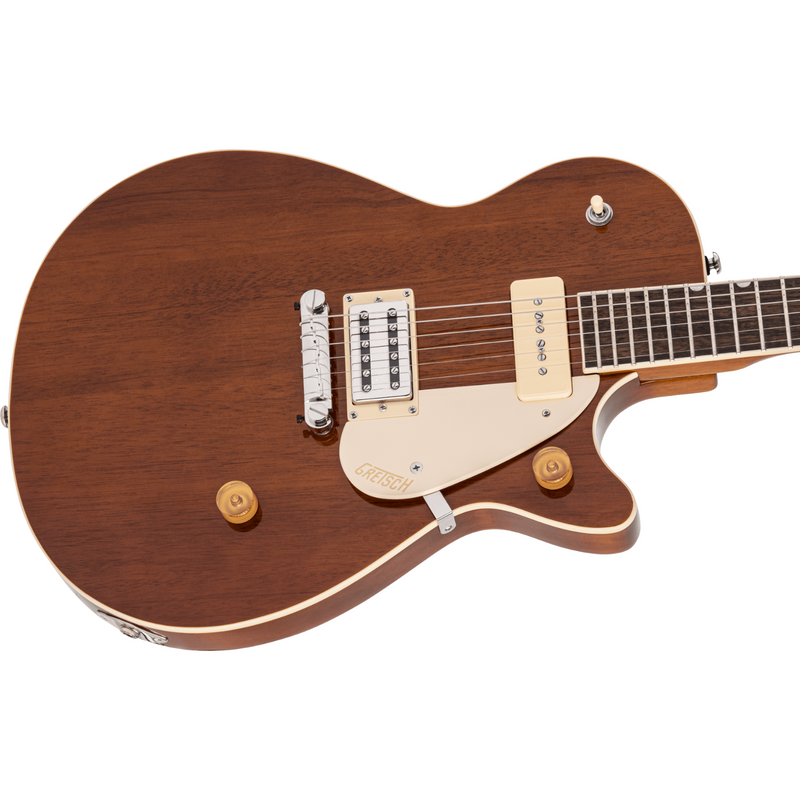 Gretsch G2215-P90 Streamliner Junior Jet Club, Laurel Board,Single Barrel Stain
