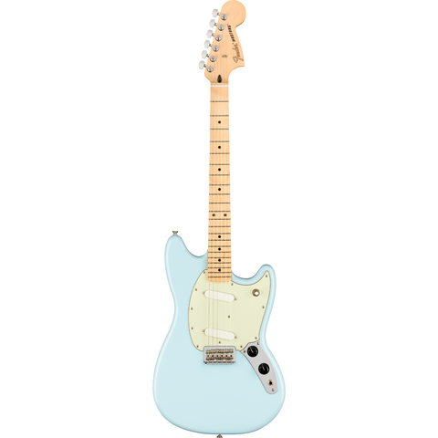 Fender Player Mustang, Maple Fingerboard, Sonic Blue P/N 0144042572