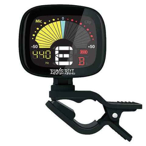Ernie Ball Flextune Clip-on Tuner - Black. Superior Quality Tuner  P04112