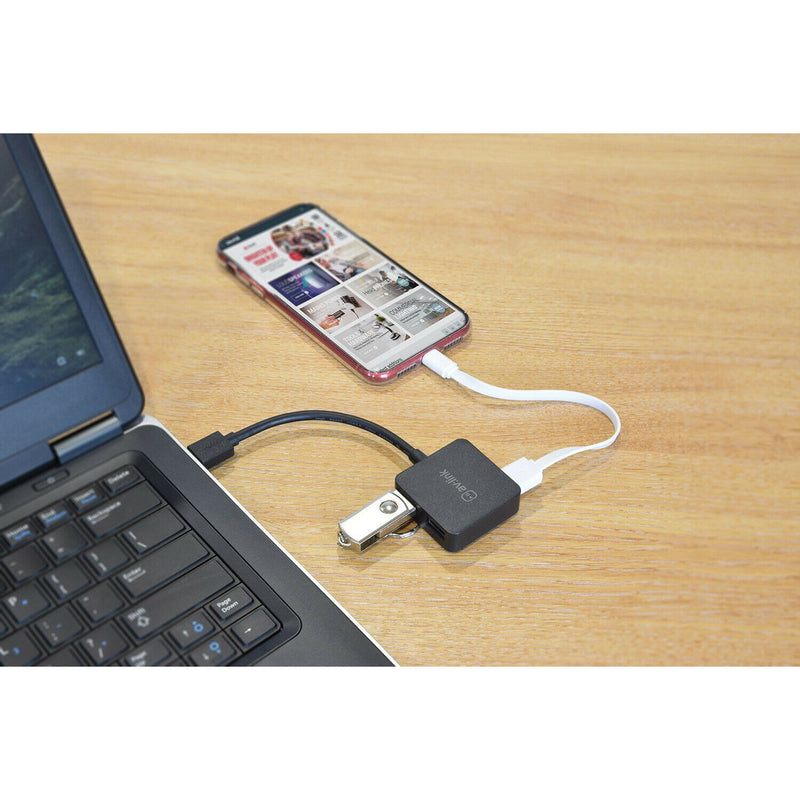 AV:Link 4 Port Super Speed USB 3.0 Hub Add Up To 4 Devices To Your Laptop