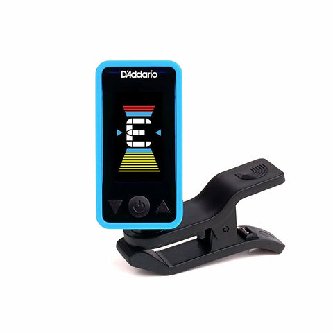 D'Addario PW-CT-17BU Eclipse Headstock Tuner Blue. Guitar, Uke, Bass !!