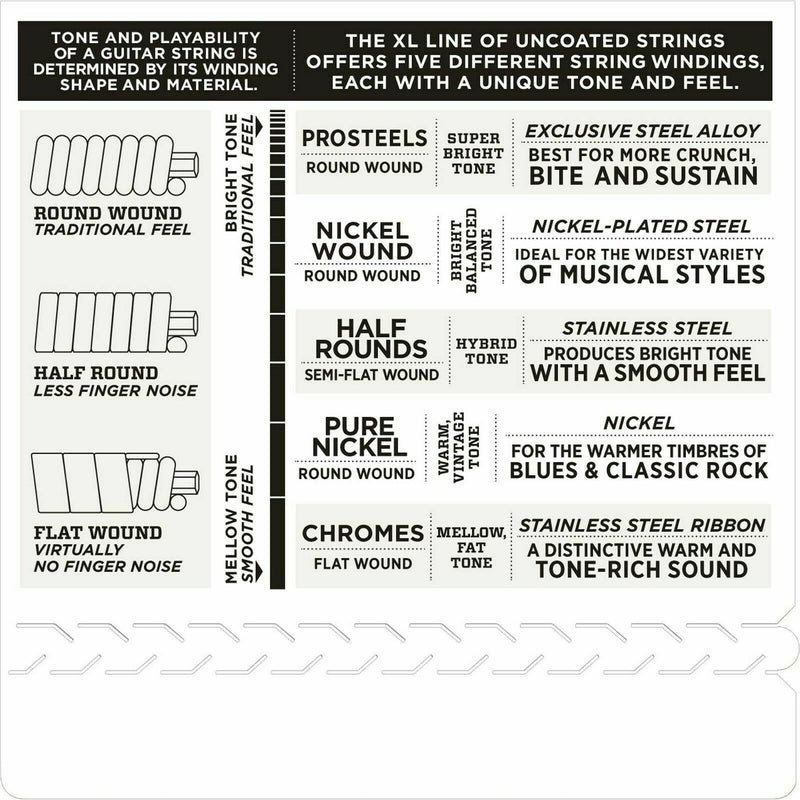 D'Addario EXL150H Nickel Wound, High-Strung/Nashville Tuning, Electric 10-26