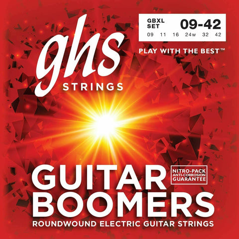 GHS Boomers GBXL-6 Nickel Plated Steel Electric Guitar Strings 9-42 Extra Light