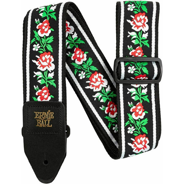 Ernie Ball Winter Rose Jacquard Strap P04668