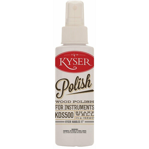 Kyser Polish KDS500, Spray Bottle 4fl.oz. Protects The Natural Wood