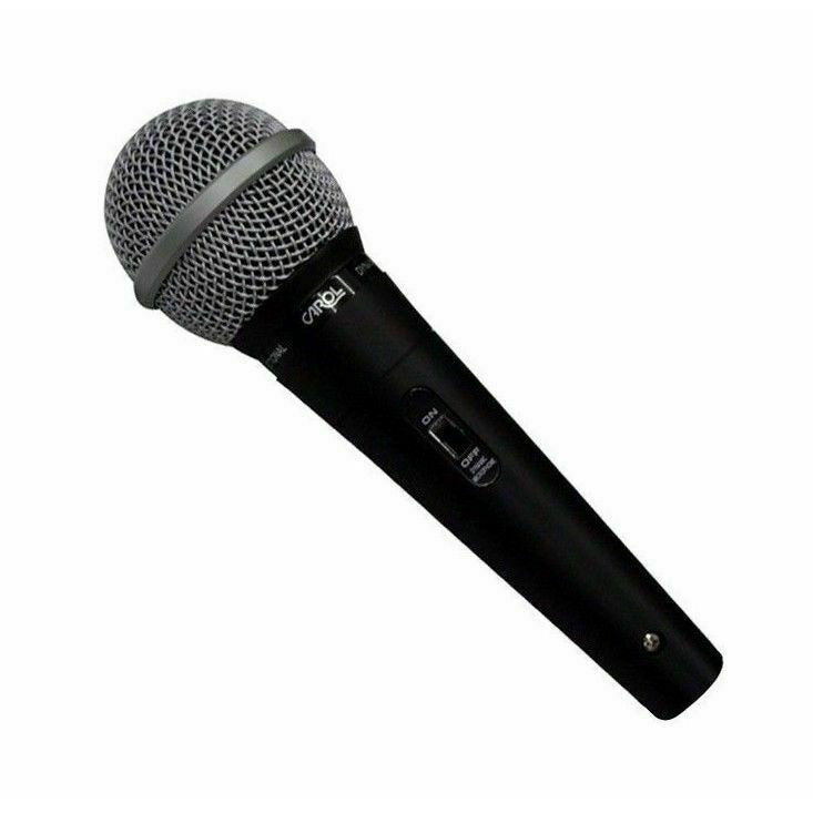 Carol Gs55 Cardioid Dynamic Handheld Microphone with 1/4 Jack Microphone Cable