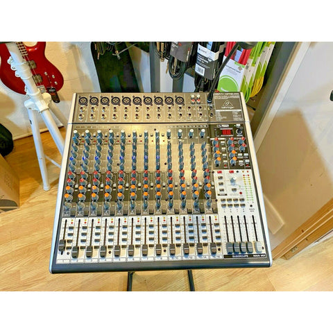 Behringer X2442USB Xenyx Small Format Mixer. SHOP EX DEMO